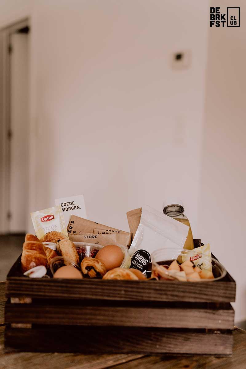 ontbijtmand extra aan huis - De Breakfast Club